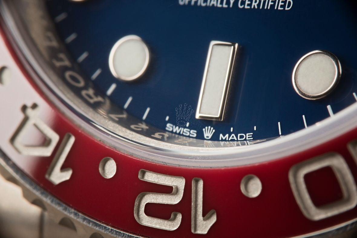 Rolex 126719 BLRO Blue Dial White Gold Pepsi GMT Master II