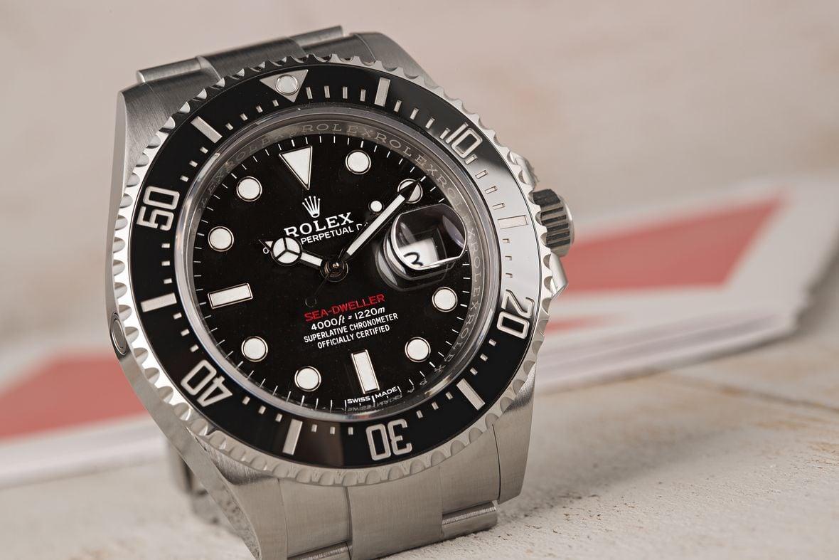 Rolex Sea-Dweller 43 Red 126600 43mm