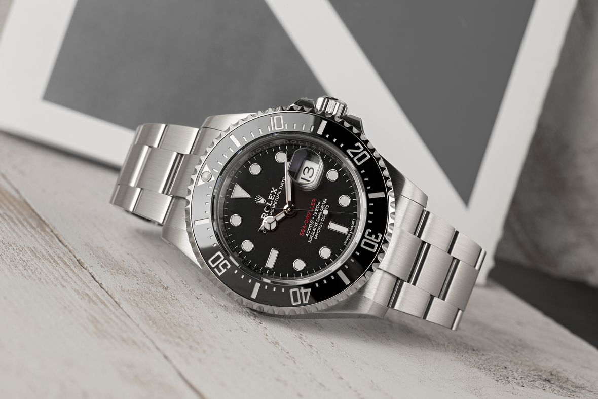 Rolex Sea-Dweller 43 Stainless Steel Red Letters 126600 43mm