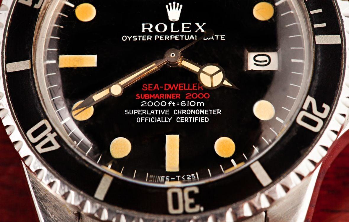 Vintage Rolex Sea-Dweller DRSD Doubler Red