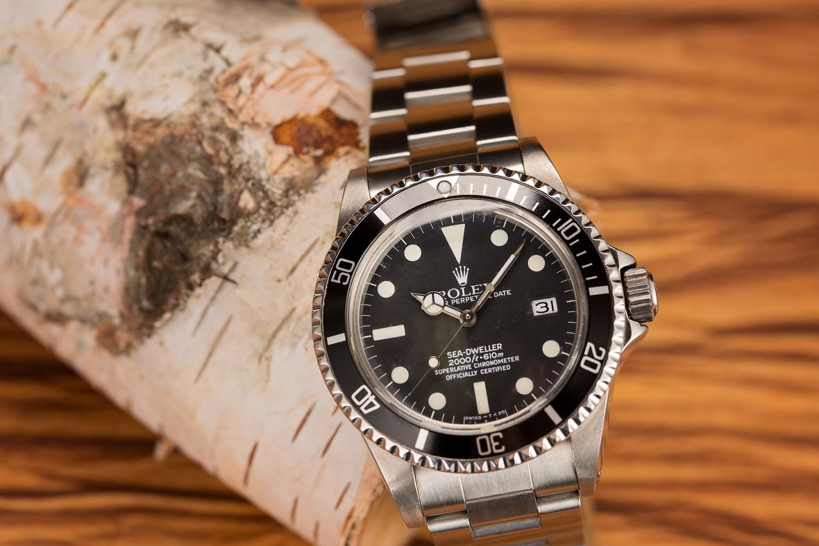 Vintage Rolex Sea-Dweller 1655 Great White