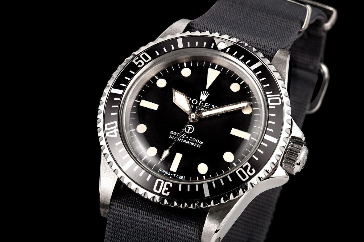 Milsub Submariner Nickname 5517