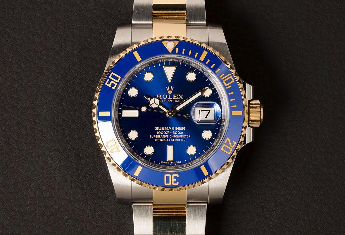 Bluesy Submariner Nickname 116613LB