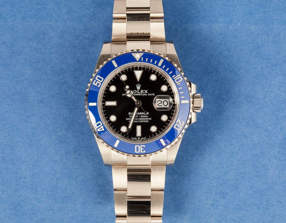 Rolex Submariner Nickname 126619LB Cookie Monster Sega White Gold