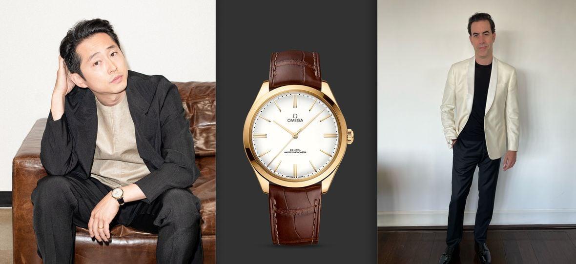 Omega De Ville Tresor Steven Yeun Sacha Baron Cohen 27 Screen Actors Guild Awards