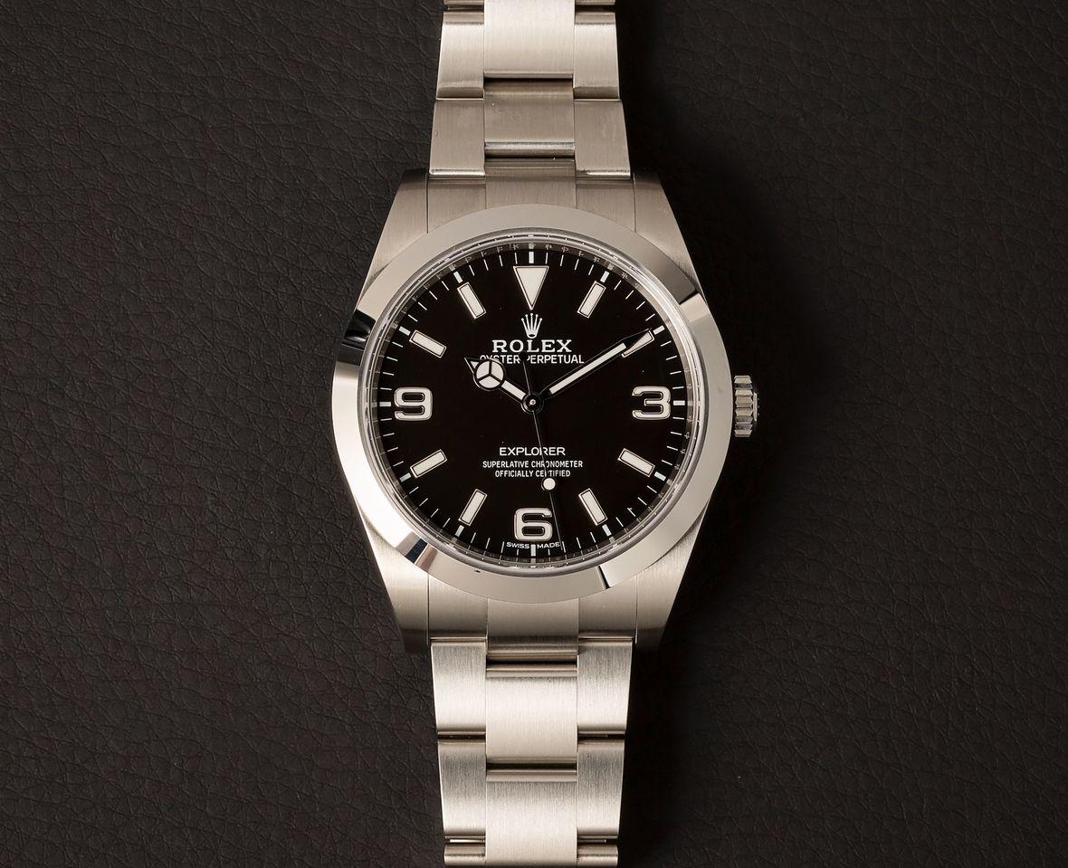 Rolex Explorer 214270 39mm