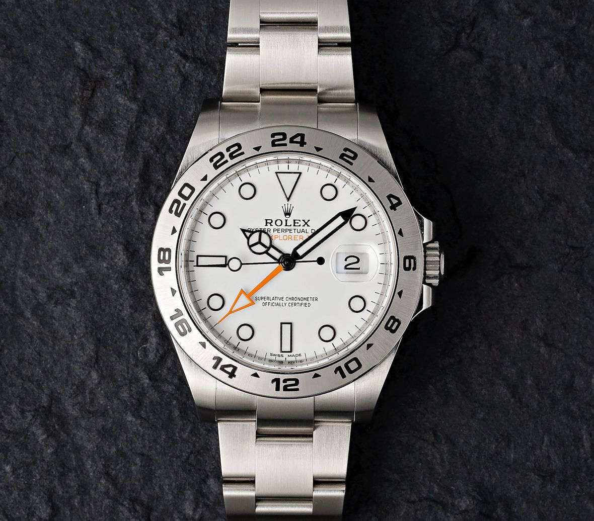 Rolex Explorer II 216570 Polar