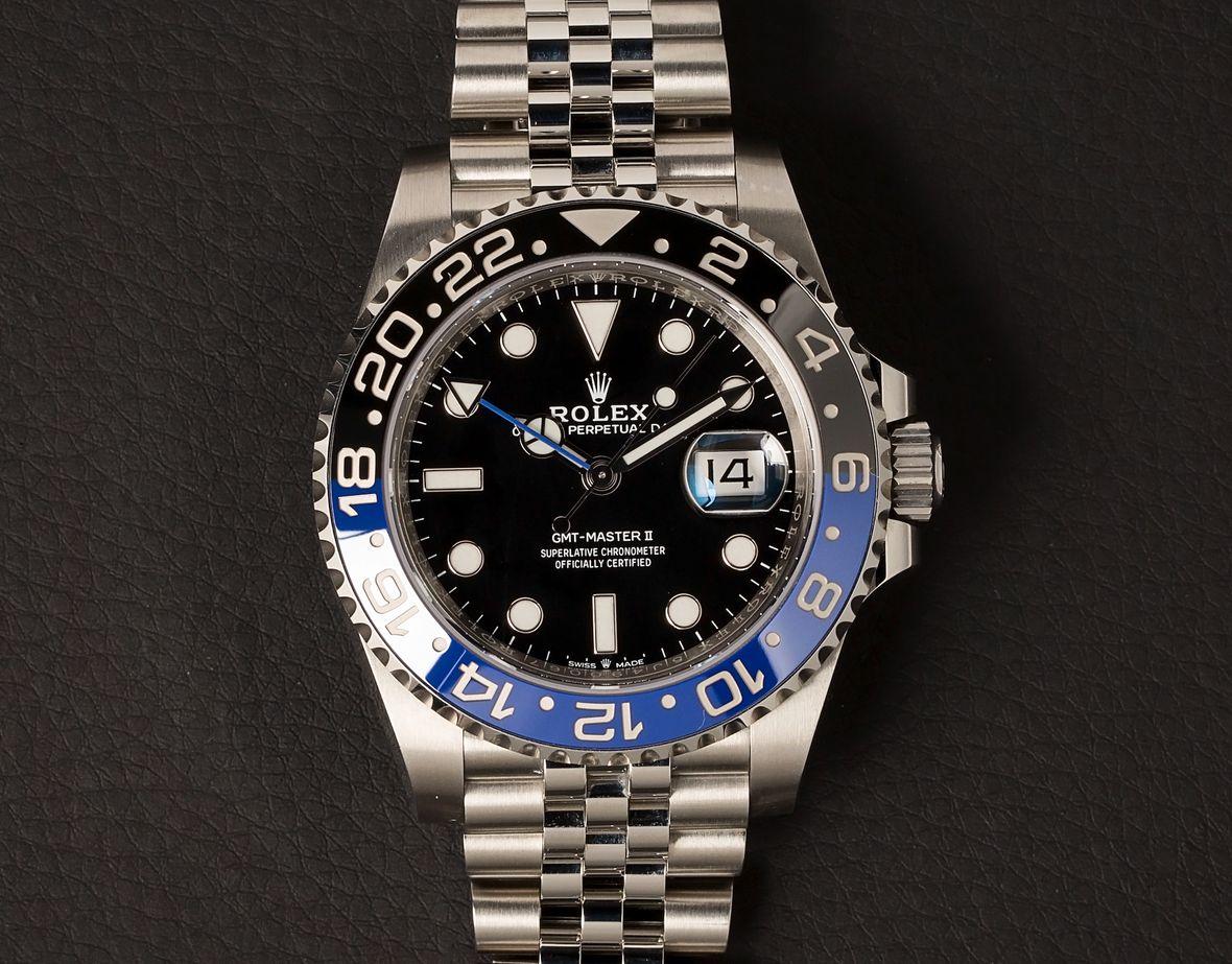 Rolex GMT-Master II 126710BLNR Jubilee