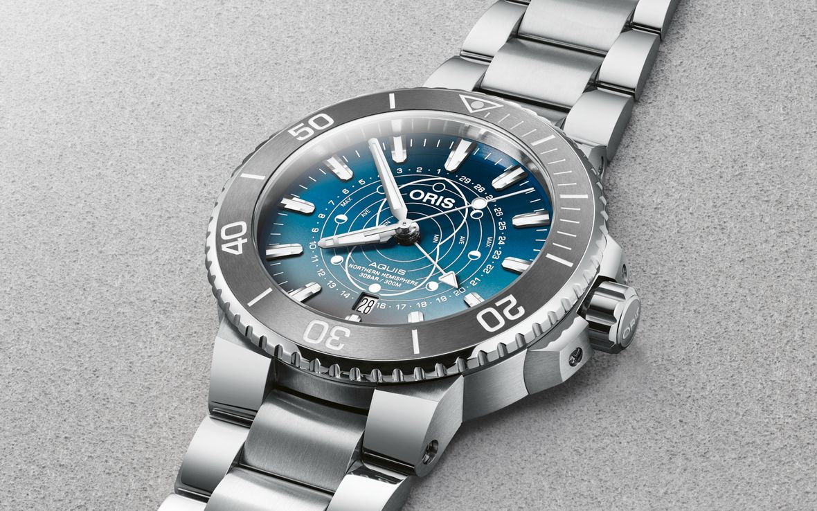 Oris Aquis Dat Watt Limited Edition Wadden Sea