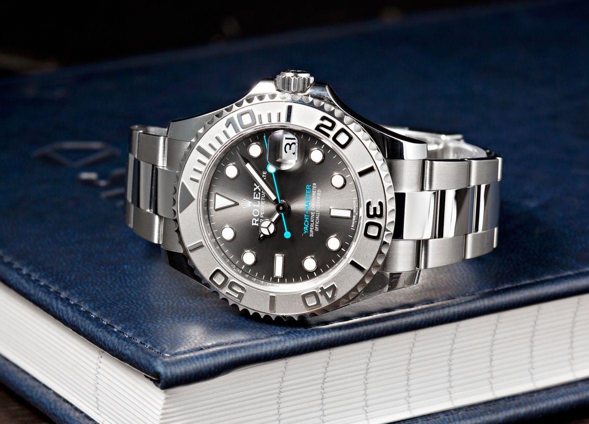 Platinum Rolex Yacht-Master 126622 Rolesium Slate Dial Shota Hayafuji