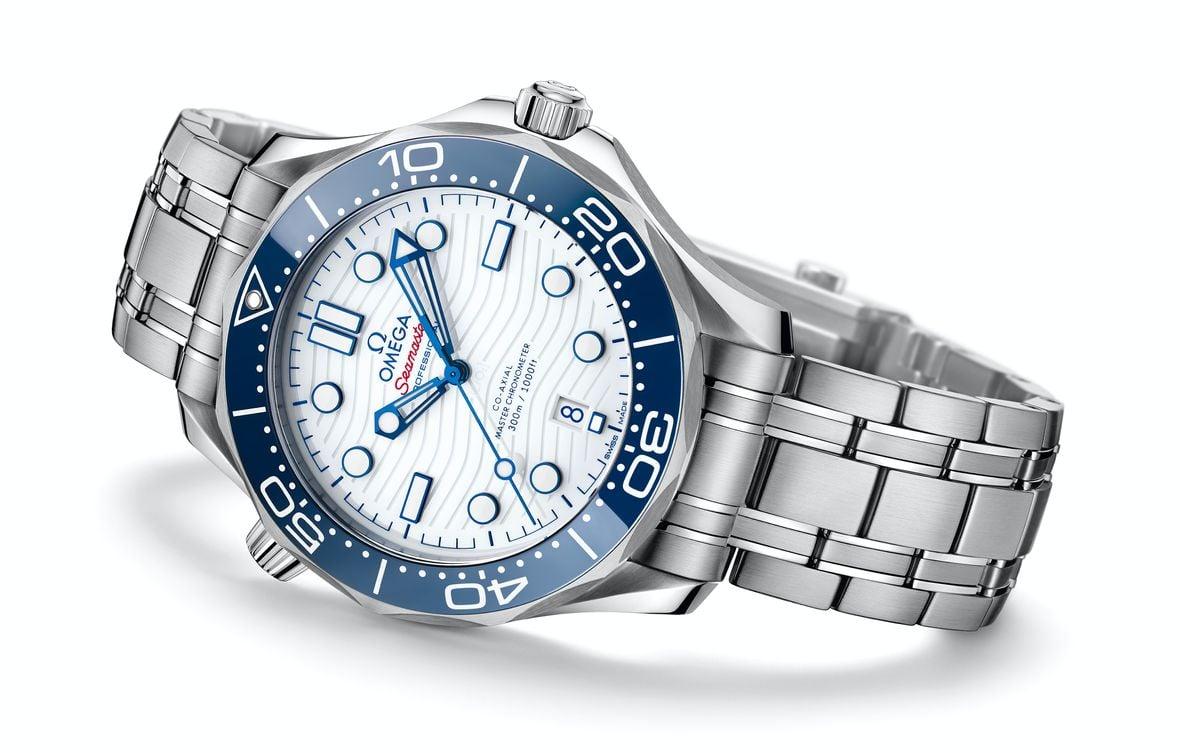 Omega Seamaster Diver 300M Tokyo 2020 Olympics Edition 522.30.42.20.04.001