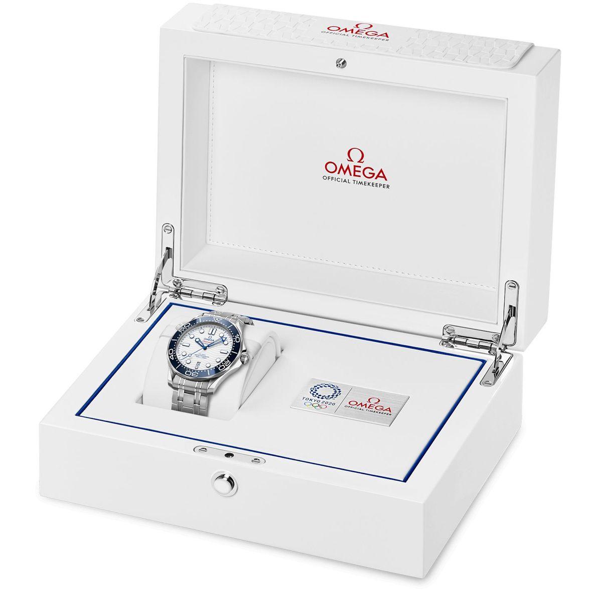 Omega Seamaster Tokyo 2020 Edition Diver 300M Olympics Presentation Box