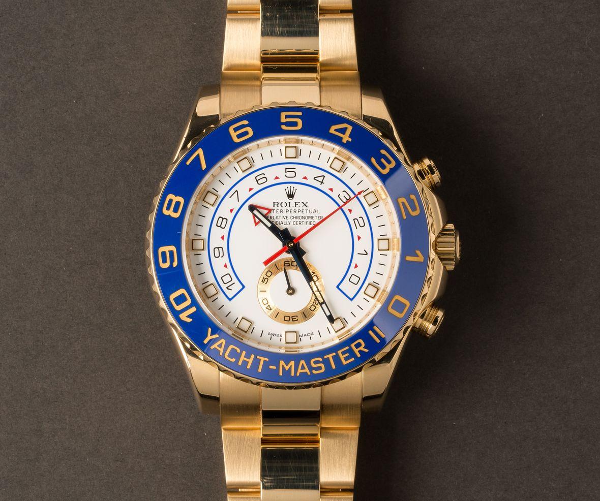 Rolex Yacht-Master II 116688 Yellow Gold