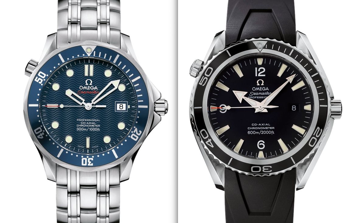 James Bond Omega Seamaster Watches Diver 300M Planet Ocean Casino Royale
