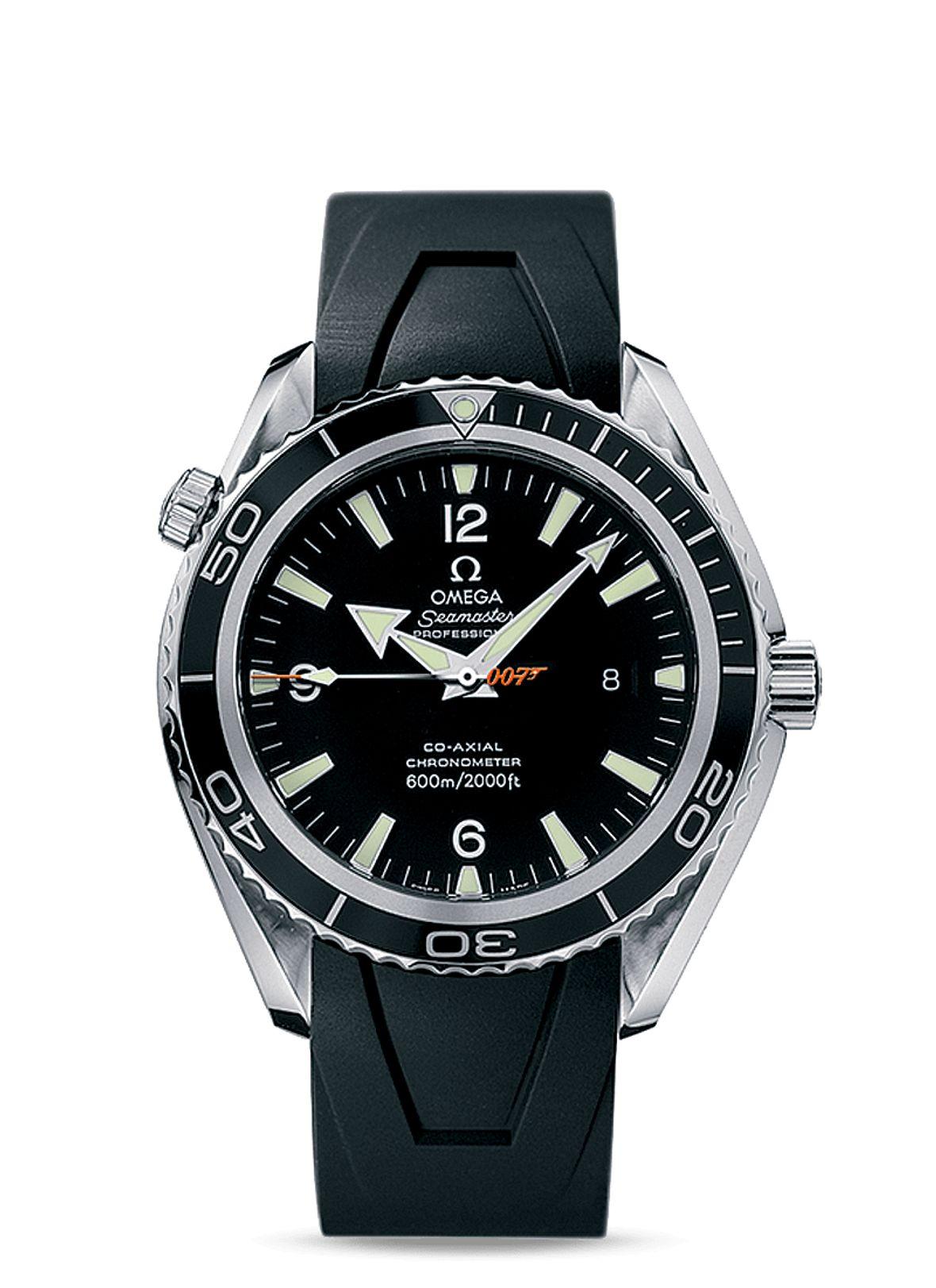 James Bond Omega Seamaster Planet Ocean 600M Big Size 007 Edition