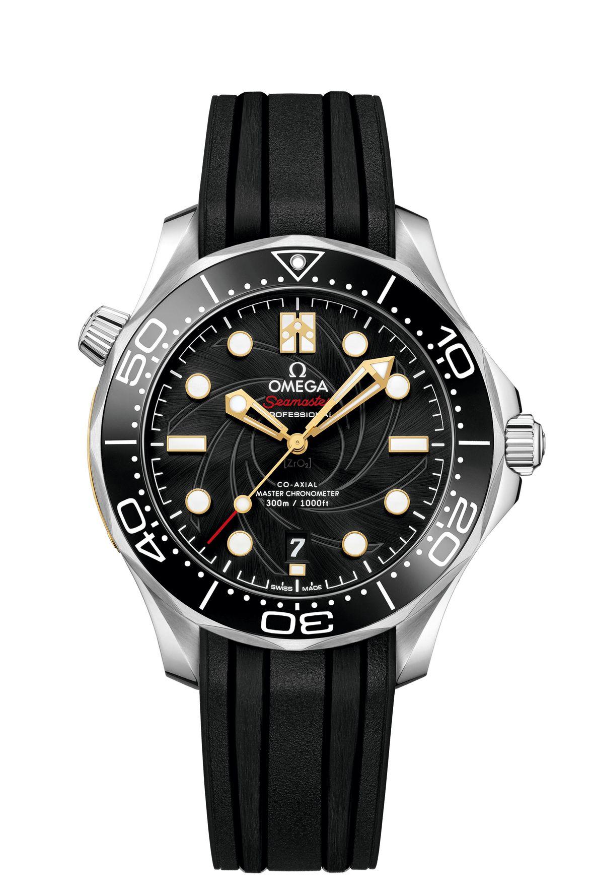 James Bond Omega Seamaster Diver 300MOn Her Majesty's Secret Service