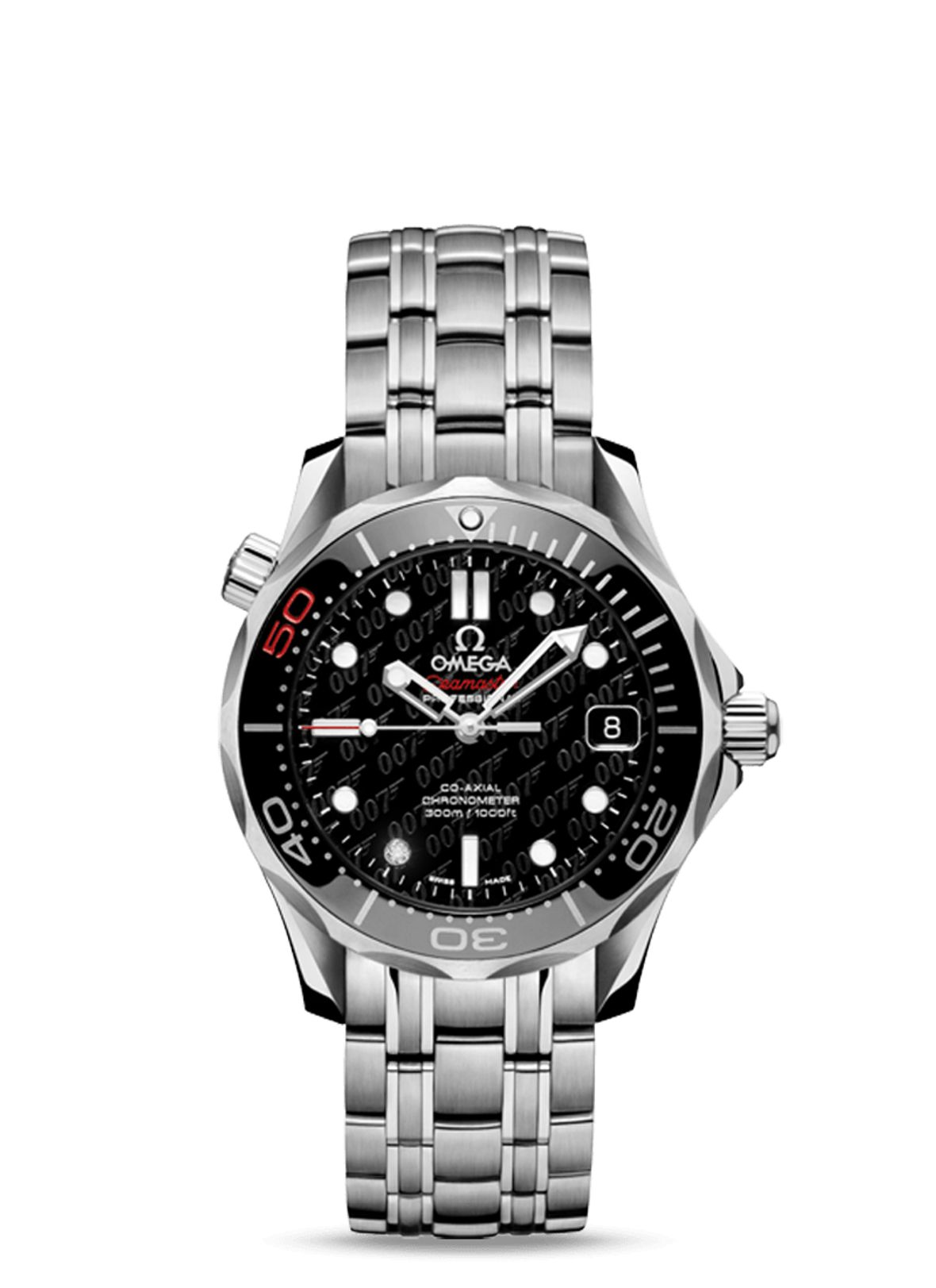 James Bond Omega Seamaster Diver 300M Midsize James Bond 50th Anniversary