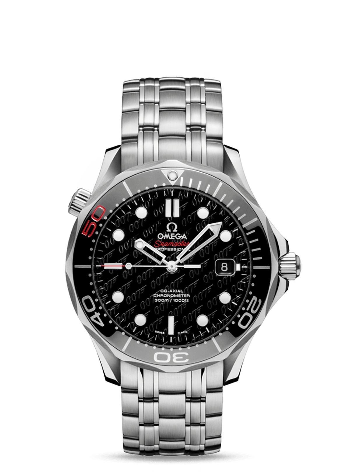 James Bond Omega Seamaster Diver 300M James Bond 50th Anniversary