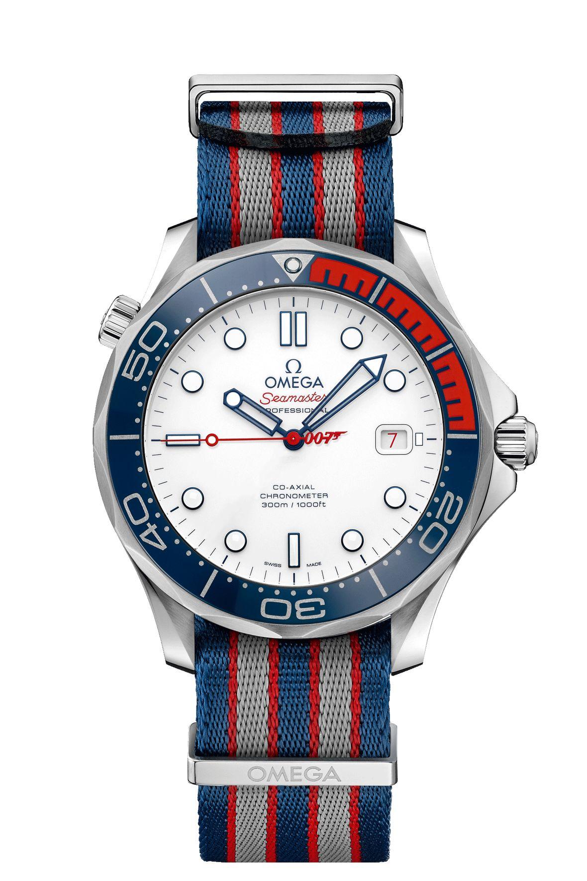 James Bond Omega Seamaster Diver 300M Commander's Watch