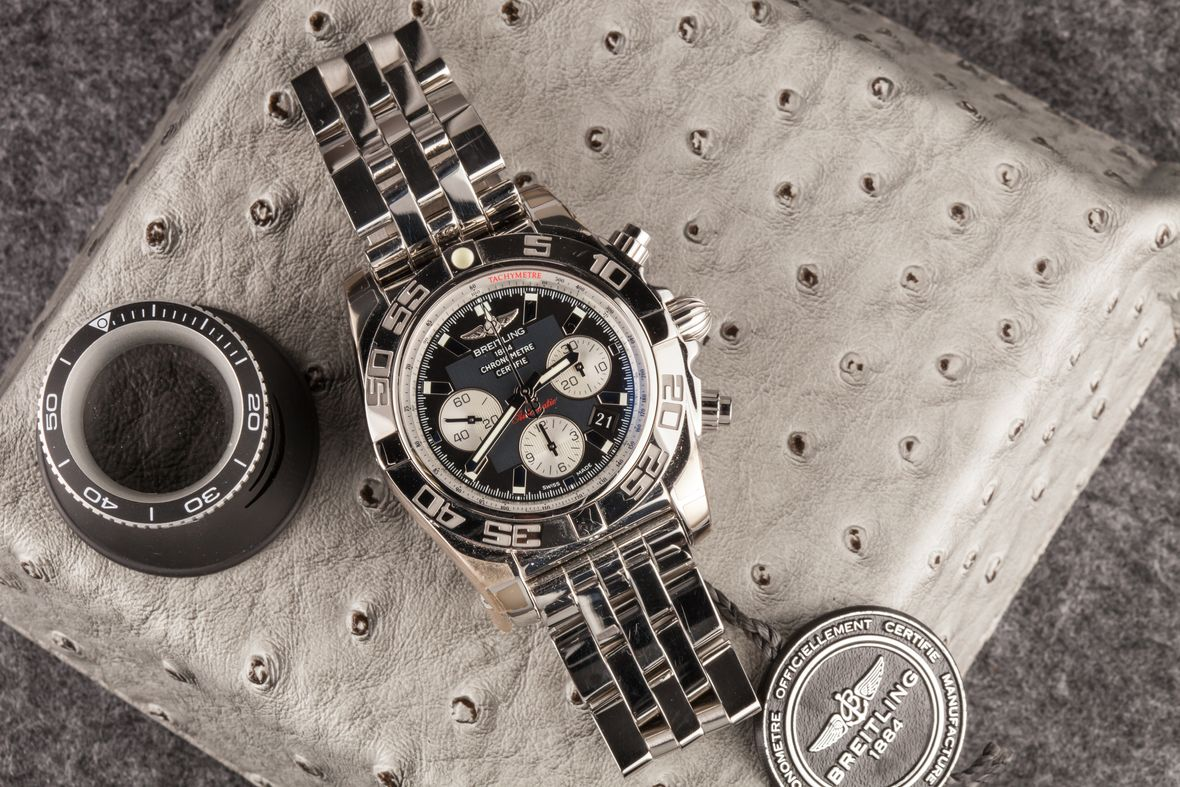 Breitling Chronomat Watches Stainless Steel