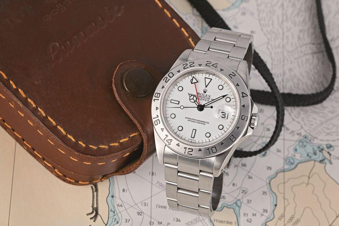 Rolex Polar Explorer II 16570 White Dial