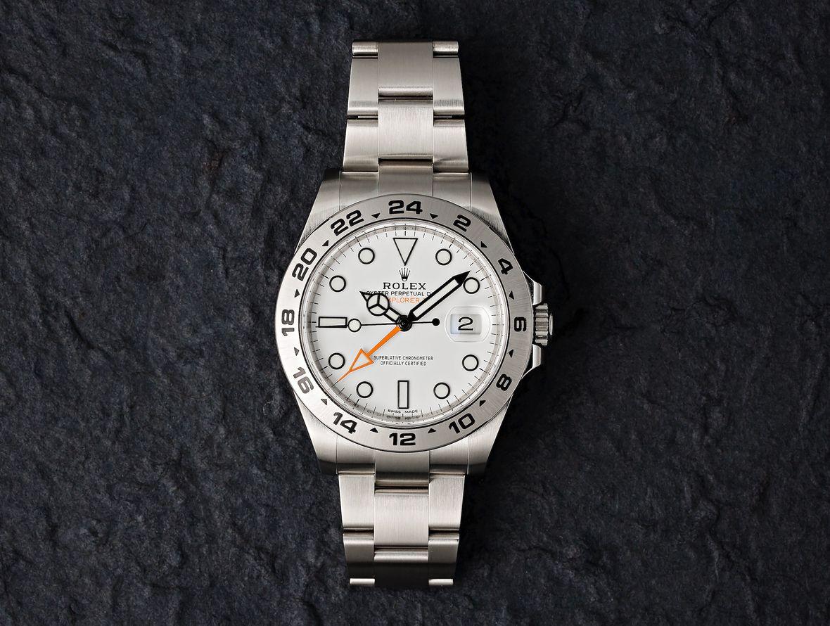 Rolex Explorer II 216570 Polar Dial