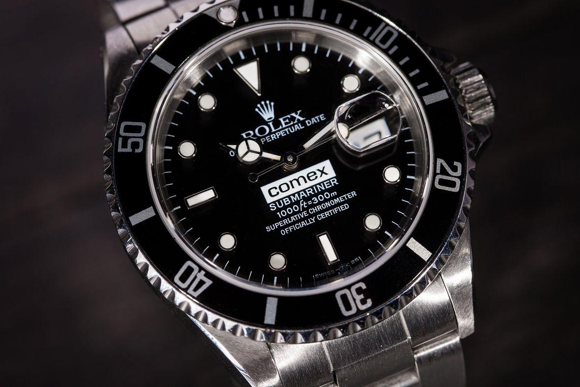 COMEX Dial Rolex Submariner 16610 Dive Watch