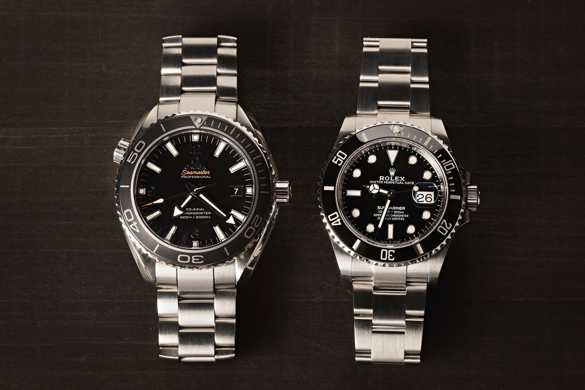 Omega Seamaster Planet Ocean vs Rolex Submariner Date