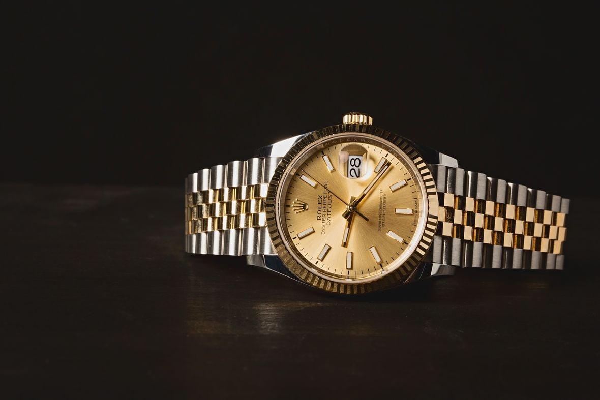 Two-Tone Rolex Datejust 36 Reference 126233 Jubilee Bracelet