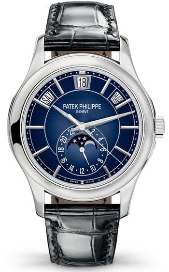 Chris Paul Patek Philippe Annual Calendar Moonphase Blue Dial