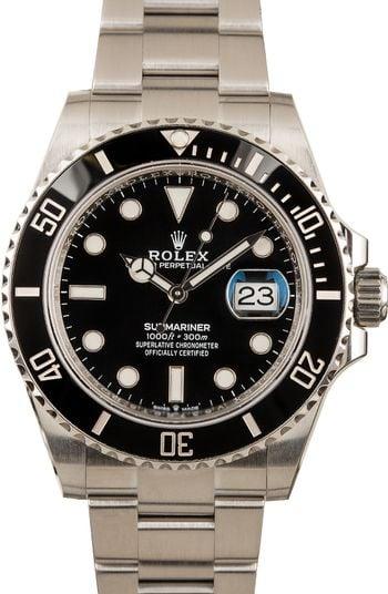Rolex Submariner 126610LN Black Dial Stainless Steel