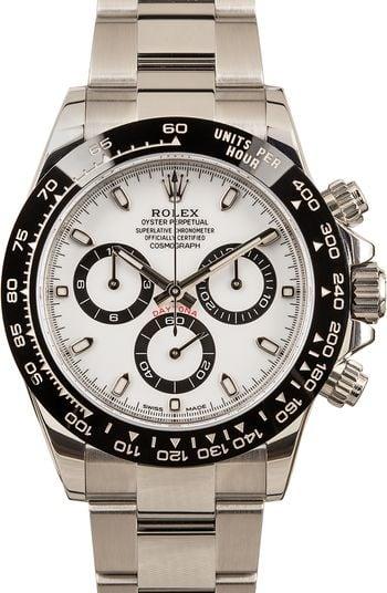 Rolex Daytona 116500LN White Dial Stainless Steel
