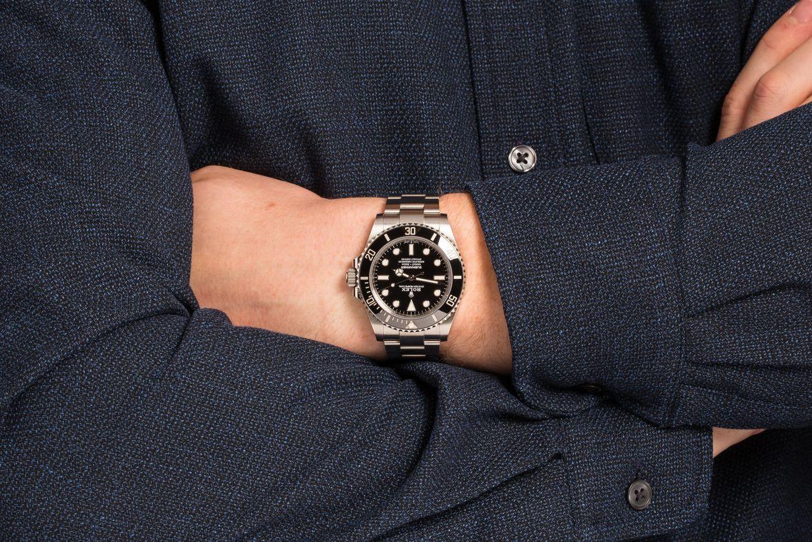Rolex Submariner No-Date 41mm 124060 Dive Watch