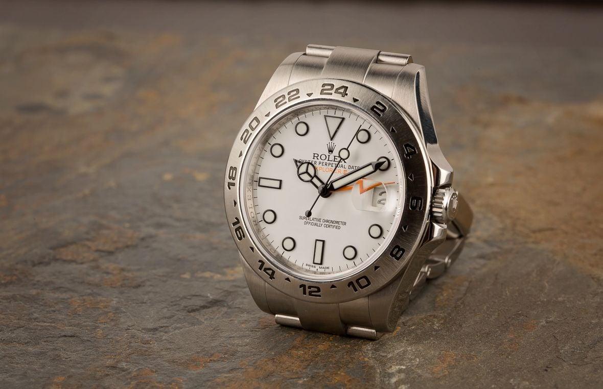 Rolex Explorer II 216570 White Polar Dial