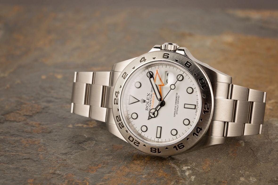Rolex Explorer II 216570 Orange Hand 42mm