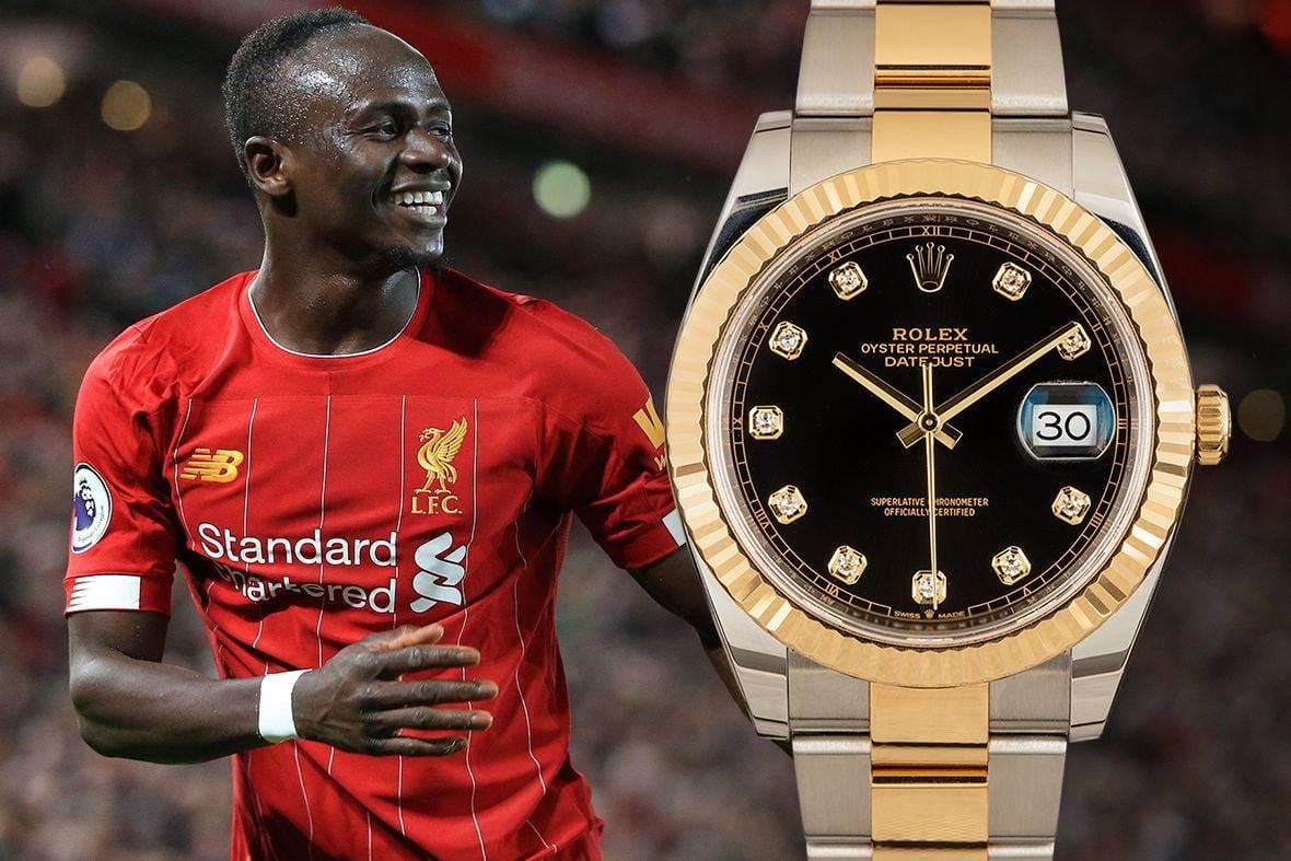 Sadio Mane Rolex Datejust 41 126333 Diamond Dial
