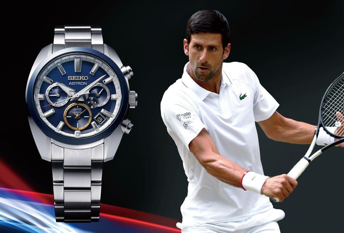 Novak Djokovic Seiko WatchesAstron GPS Solar