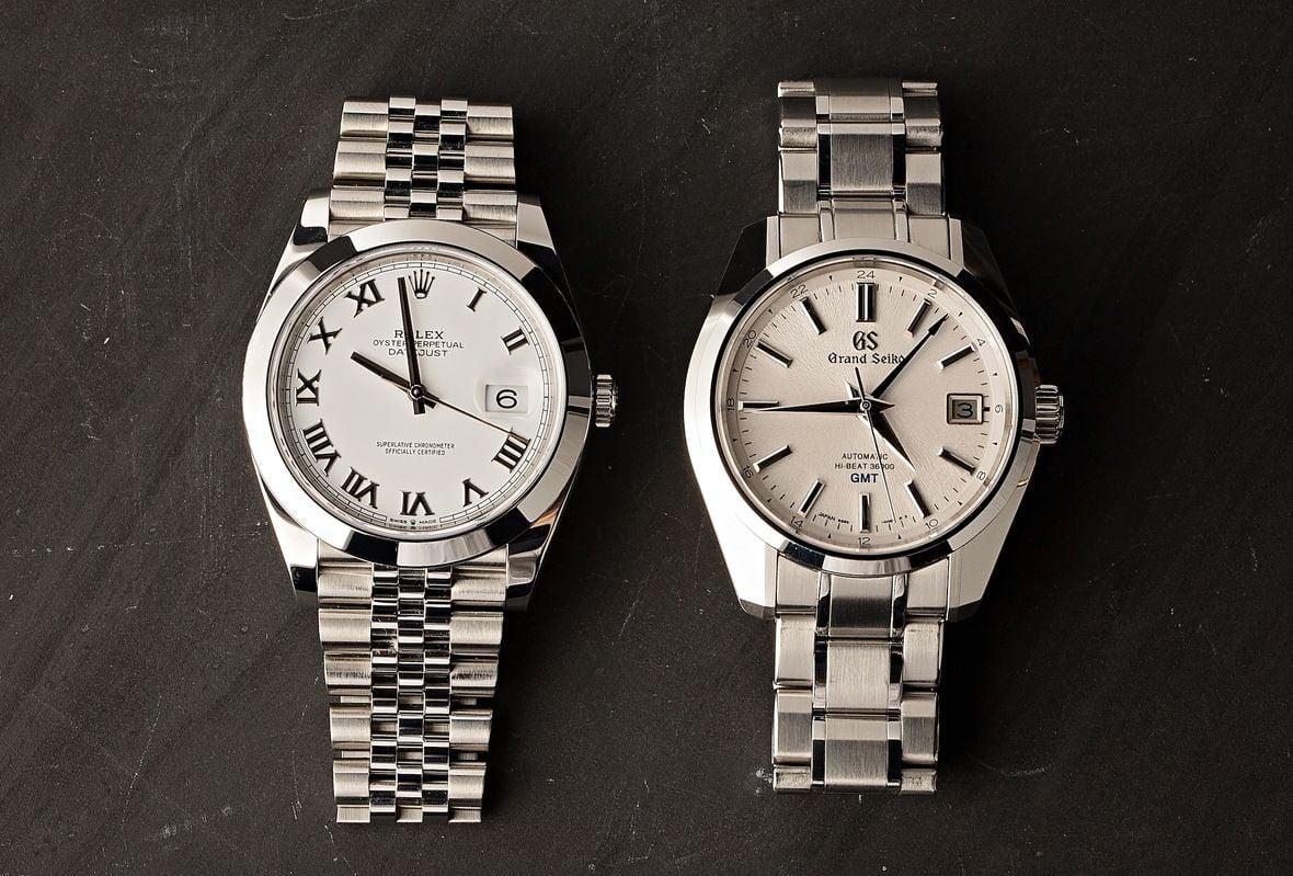 Rolex Datejust 41 vs Grand Seiko SBGJ201 Comparison