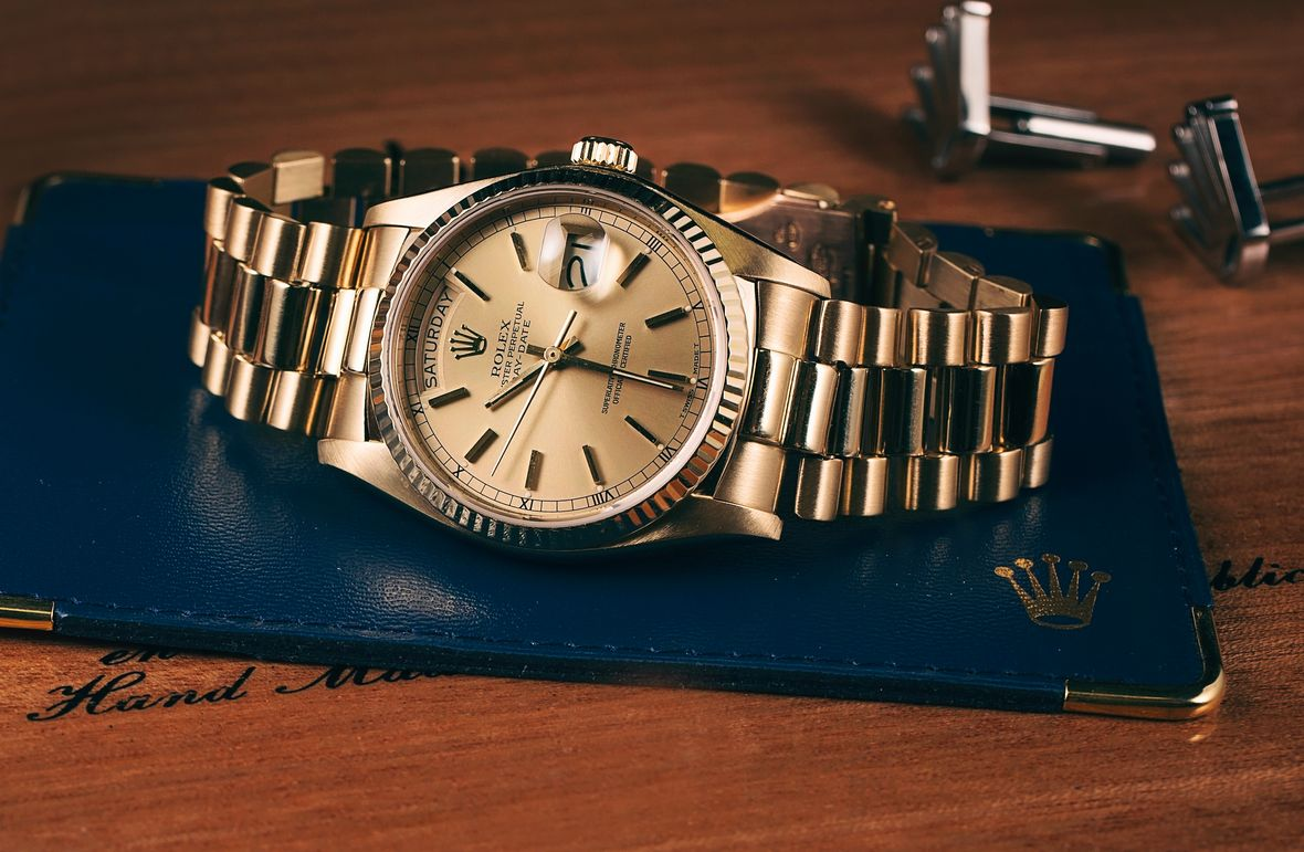Rolex Day-Date President Yellow Gold 36mm