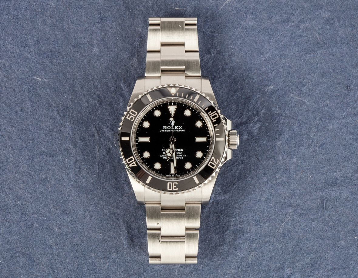 Rolex Submariner No-Date 41mm 124060 Stainless Steel Black Dial
