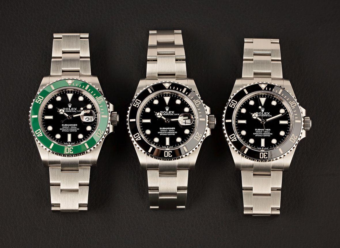 Stainless Steel Rolex Submariner 41mm Dive Watches
