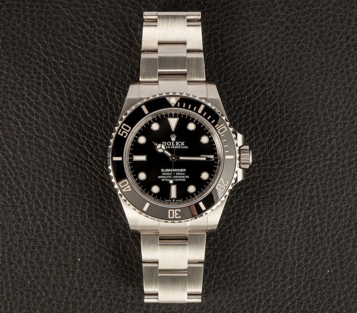Rolex Submariner 41mm 124060 Black Dial
