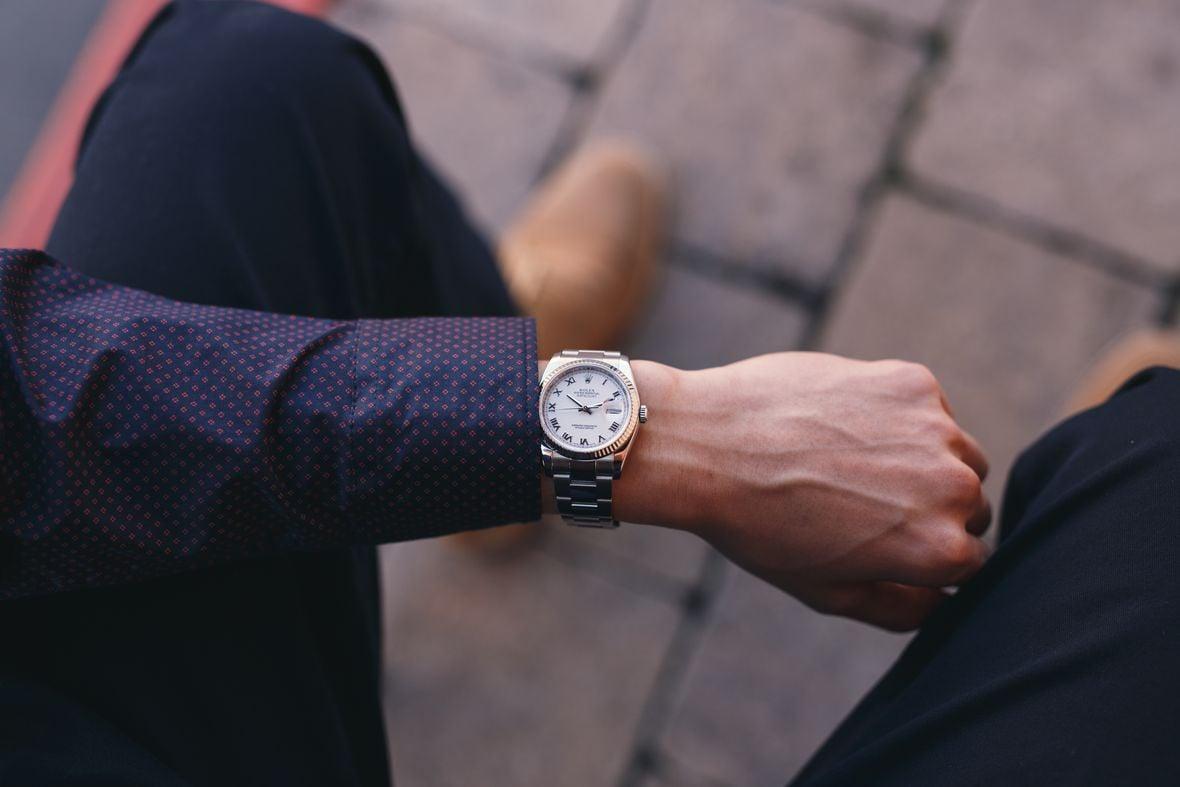 Rolex Datejust 36 Fluted Bezel 116234 Roman Dial