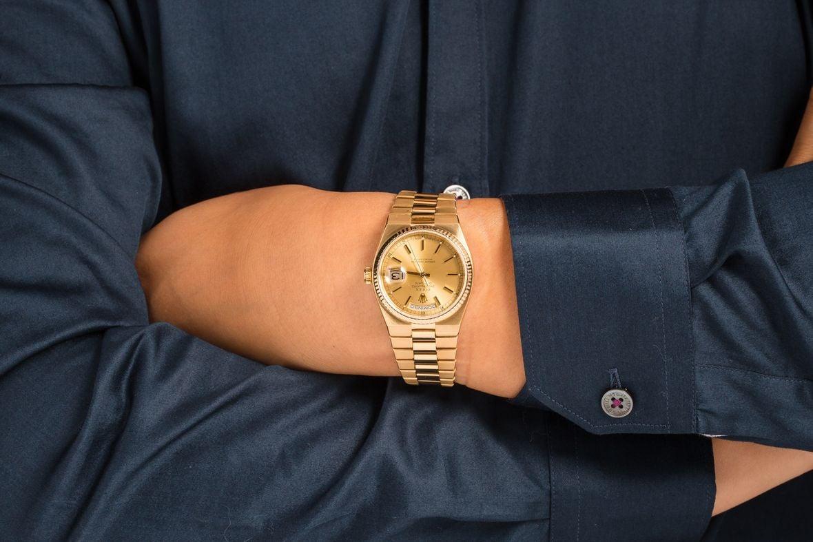 Rolex Oysterquartz Day-Date President