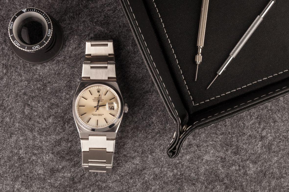 Rolex Oysterquartz Datejust Stainless Steel