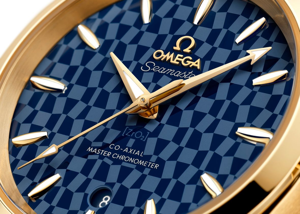 Omega Seamaster Aqua Terra 18k Yellow Gold Tokyo 2020