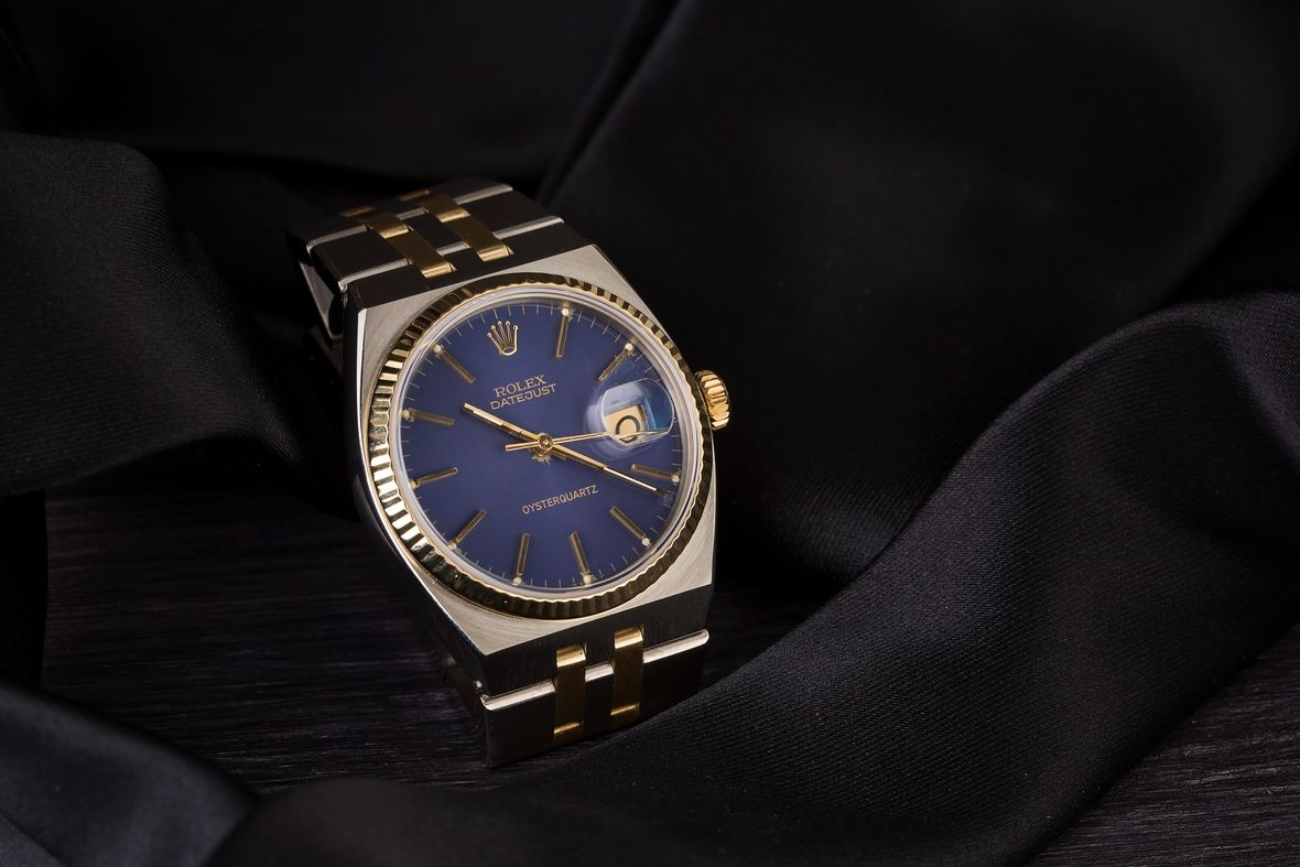 Rolex Oysterquartz Datejust Quartz Movement