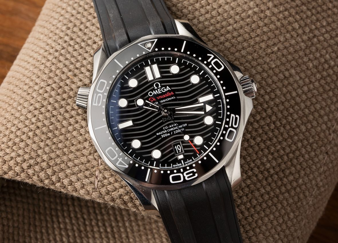 Omega Seamaster Diver 300M Ceramic Wave