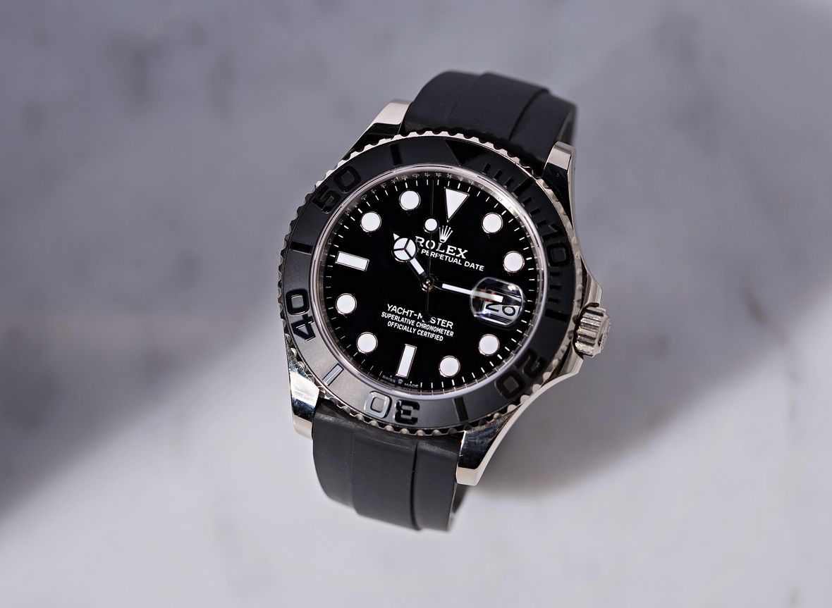 Rolex Yacht-Master 42 White Gold Oysterflex Bracelet 226659