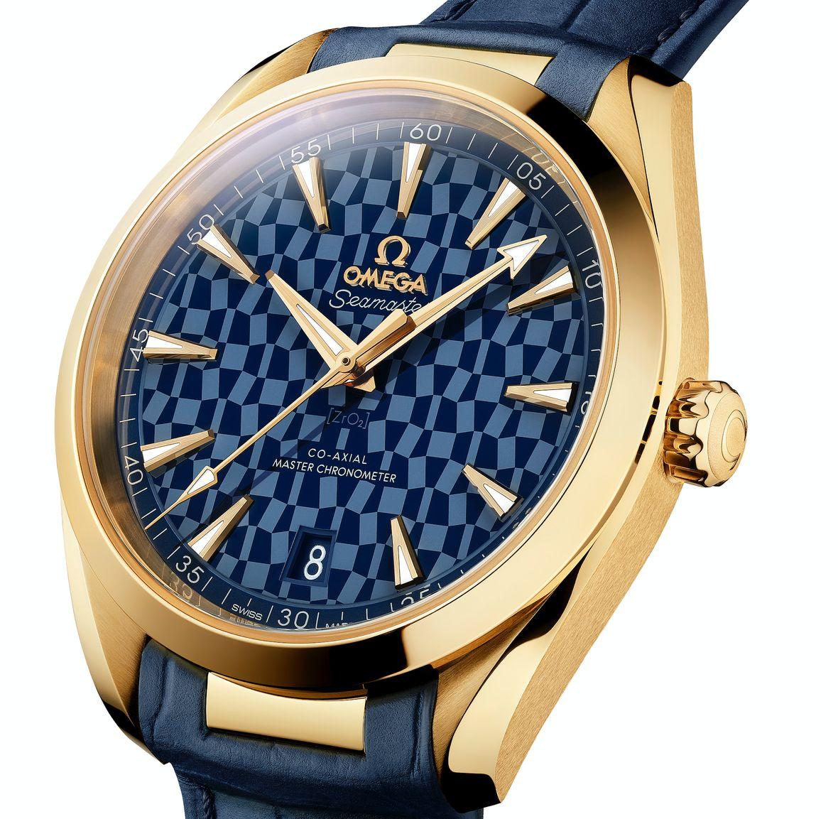 Omega Seamaster Aqua Terra Tokyo 2020 Olympics 18k Gold